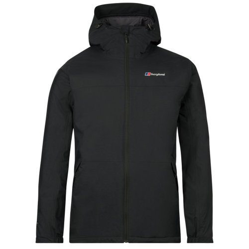 Berghaus Deluge Pro Mens Insulated Outdoor Waterproof Jacket Black