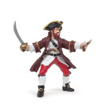 Red Barbarossa - Papo Figure Papo Pirates & Corsairs Toy Figure Action Figures -  barbarossa papo figure PAPO BARBAROSSA PIRATES & CORSAIRS TOY
