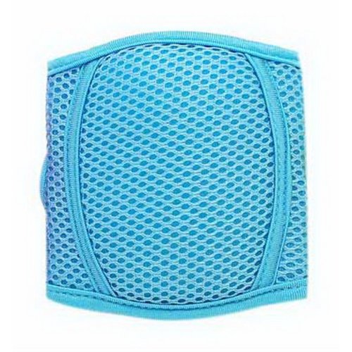 Baby Crawling Knee Pads Adjustable Elbow Protective Knee Pads For Toddlers, Blue