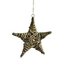 Hang Decorations Home Decor Wall decoration Balcony Decoration Five-pointed star/20cm