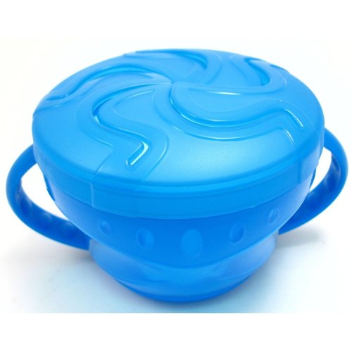 Griptight - My First Self Feed snack bowl (Blue)