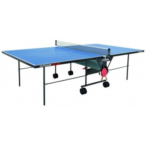 Stiga Table Tennis Table Outdoor Roller  Blue with a 4mm Top