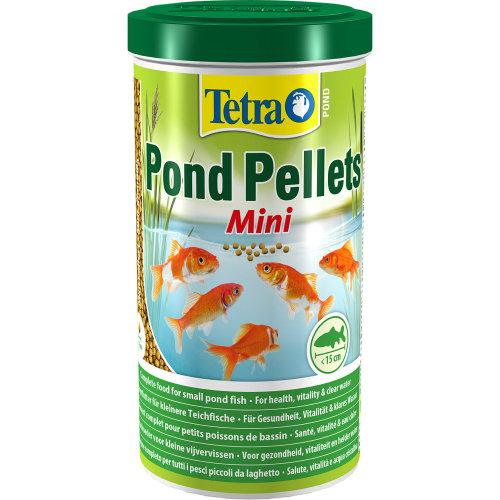Tetra Pond Floating Food Pellets Mini 260g (1 Litre)