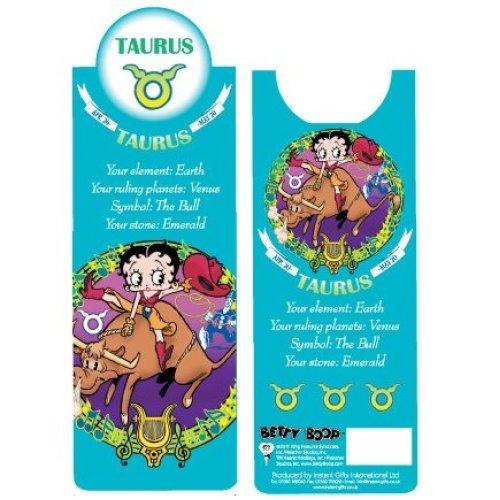 Betty Boop Taurus Bookmark