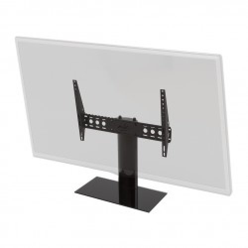 """King Tilting Table Top Replacement Pedestal TV Base Stand for up to 65"""" inch"""