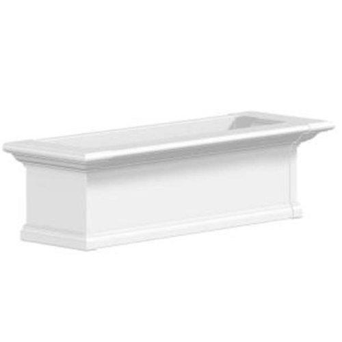 Mayne 4823W Yorkshire 3 Foot Window Box - White