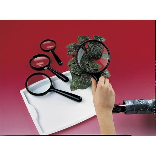Delta Education 130-4566 Magnifiers 3 in. Lens - Pack of 10