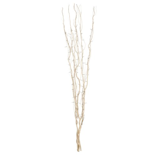 Housewares White Colour Twigs with 80 Lights - 120 cm