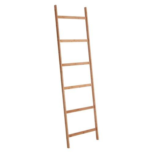 Nostra Towel Ladder, Six Rung, Bamboo, Natural