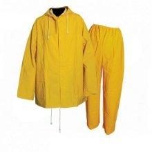 """Silverline Rain Suit Yellow 2pce L 74 - 130cm (29 - 51"""") - 457006 29 51 132cm 52 -  rain suit silverline 2pce 457006 yellow 74 130cm 29 51 132cm 52"""
