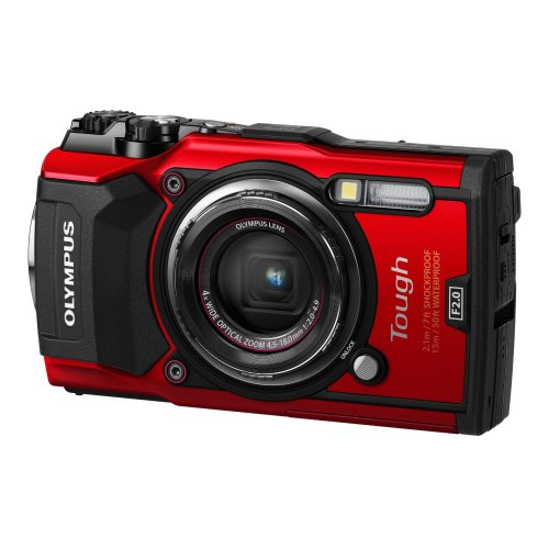 Olympus TG‑5 Compact camera 12MP 1/2.33  CMOS 4000 x 3000pixels Red