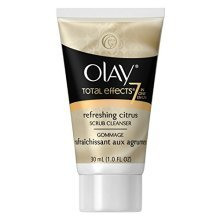 Olay Total Effects Refreshing Citrus Scrub Cleanser, 1 Fluid Ounce