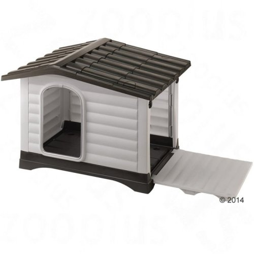 Plastic Dog Kennel Dogvilla Outdoor Durable Spacious