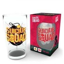 Suicide Squad Bomb Pint Glass