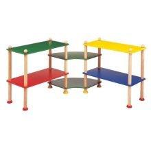 Children's Shelf Storage Corner Unit (A1486)