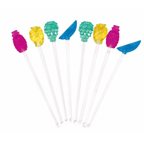 8pk KitchenCraft Novelty Cocktail Stirrers