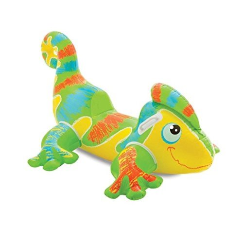 "Intex Smiling Gecko Ride-On, 54 1/2"" X 36"", for Ages 3+"
