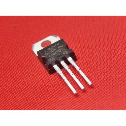 Voltage Regulators L7824CV +24Vdc TO-220 package PACK of 5