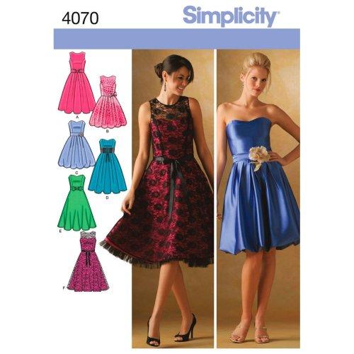 SIMPLICITY MISSES/MISS PETITE SPECIAL OC-12,14,16,18,20