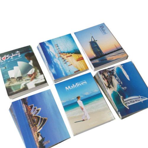 Pack of 90 Romantic Scenery Photo Postcards