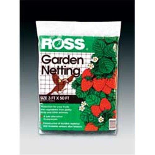 Easy Gardener Weatherly Consum Ross Garden Netting Black 3 X 50 Feet - 16440