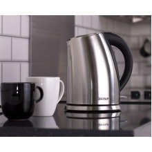 Igenix Ig7250 Cordless Jug Kettle with Brushed Stainless Steel - 3,000 W, 1.7 L