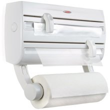 Leifheit Wall-mounted Roll Holder Parat F2 White 25771