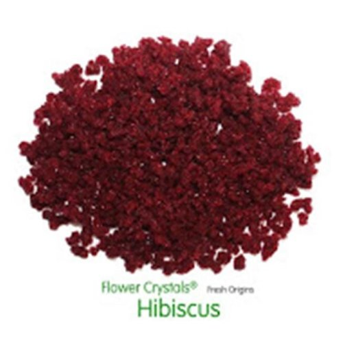 Fresh Origins 185HIBISCUS4OZ12 Flower Crystals Hibiscus- 4 oz. - 6 pack