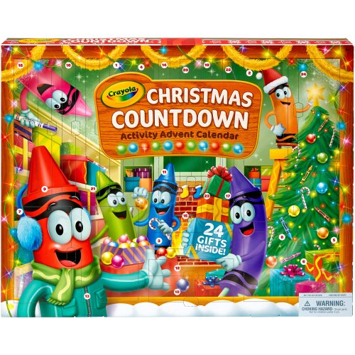 Crayola Christmas Countdown Activity Advent Calendar-