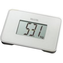 Tanita Super Compact Multi Purpose Digital Scales - Pearl White (HD386PR)