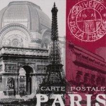 Ti-Flair Pack of 20 Napkins / Serviettes - Global City - Paris - 33cm x 33cm - 3ply