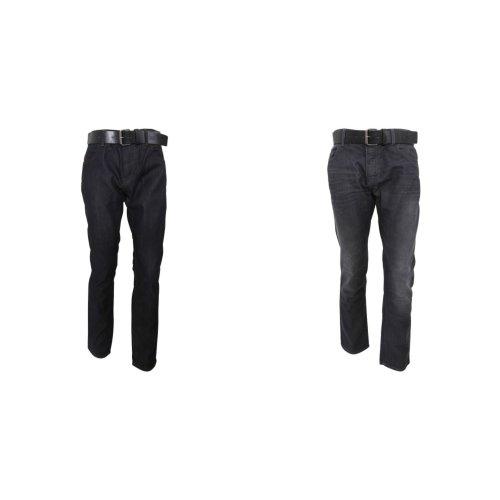 Crosshatch Mens Wayne Slim Fit Jeans