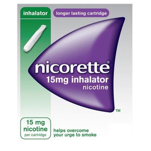 Nicorette 15mg Inhalator Nicotine