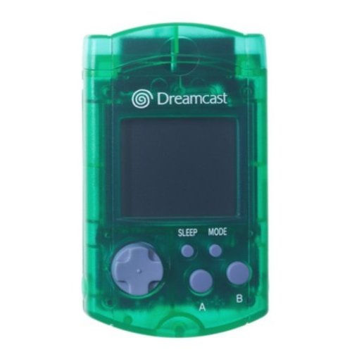 SEGA Dreamcast Green Visual Memory Unit VMU