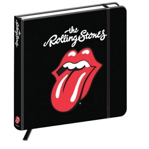The Rolling Stones Classic Tongue Notebook Black - New Official -  rolling tongue notebook stones classic new official