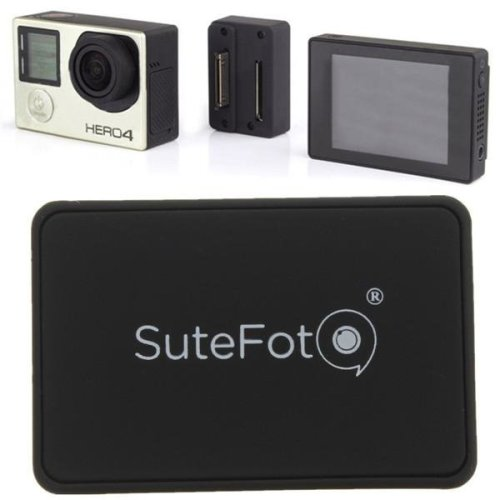 SuteFot LCD Screen Converter Connection Adapter Mount Accessory For Gopro Hero 4 3 Plus 3