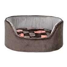 Trixie Currito Dog Bed, 85 x 65 Cm, Taupe/grey - Bed Greysalmon Various Sizes -  trixie dog bed currito greysalmon various sizes new