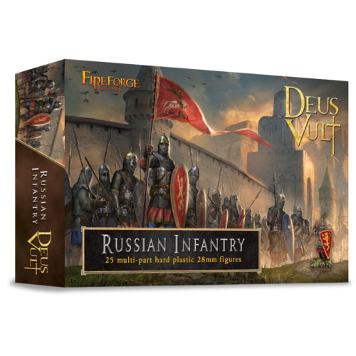 Russian Infantry - 28mm multipart figures - FireForge FFG010 - Free post P3