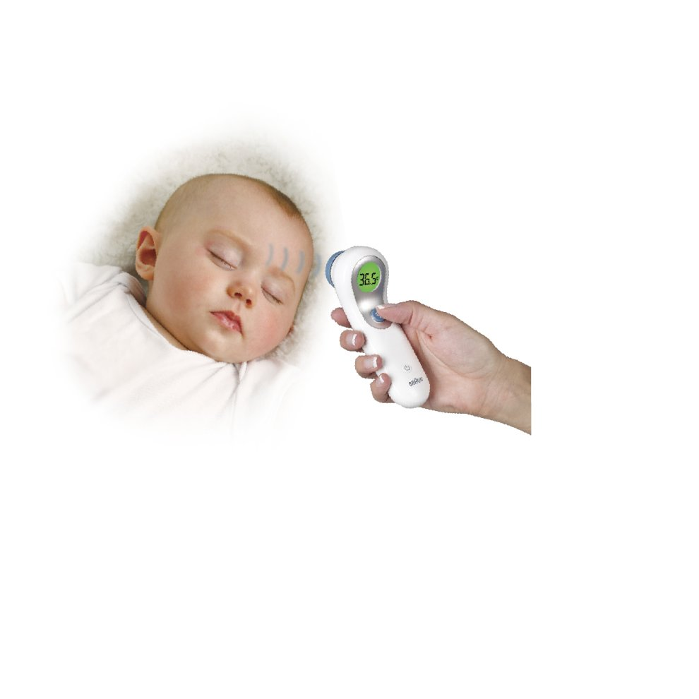 Braun No Touch Amp Forehead Thermometer Touch Free Baby