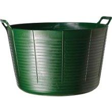 75l Green Durable & Flexible Tub - Tubtrugs Faulks Extra Large -  flexible green tubtrugs faulks extra large 75l