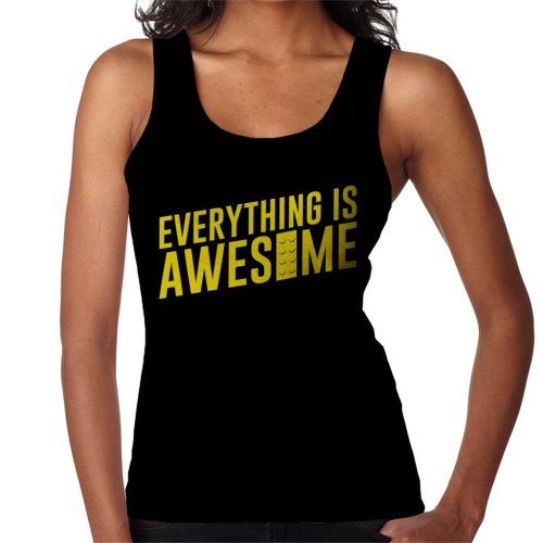 Everything Is Awesome Lego Movie Women's Vest