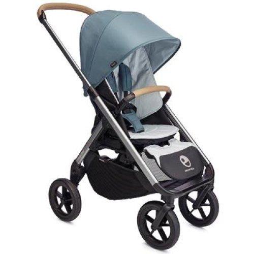 Easywalker Mosey Plus Single Pushchair, Steel Blue