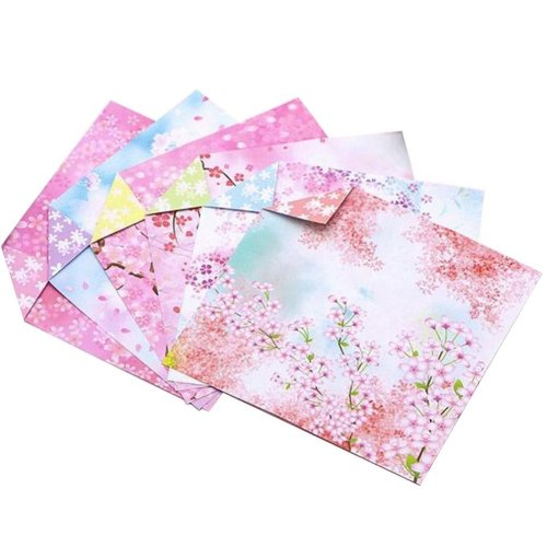 144 Sheets Colorful Square Origami Papers Craft Folding Papers #19