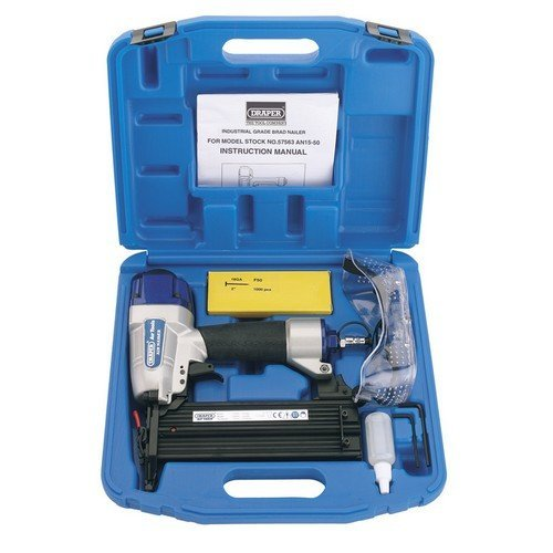 Draper 57563 15-50mm Air Nailer Kit
