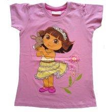 Dora  T Shirt - Pink