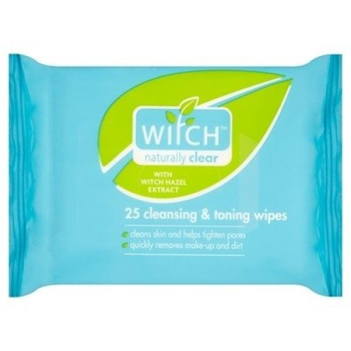 Witch Cleansing & Toning 25 Wipes