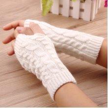 Women Winter Hand Warmer Knitted Gloves