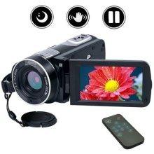 Camcorder Video Camera Full HD Digital Camera 1080p 24.0MP Night Vision Vlogging Camera 18X Digital Zoom with Remote Control