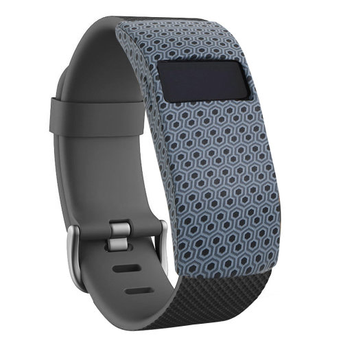 TRIXES FITBIT BAND COVER GREY