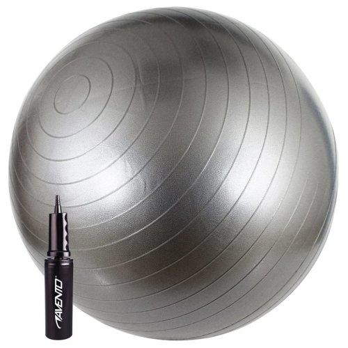 Avento Exercise Ball 65 cm Silver 41VV-ZIL